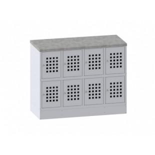 Шкаф для сумок ПРАКТИК Стандарт LS-42 (970x1200x500)