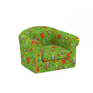 Кресло мягкое,игровое,безкаркасное флок