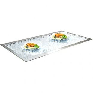 Ванна для льда ВИОЛА ВЛ-1685БТ (1685х590х140 мм, без хладоагрегата, без полки)
