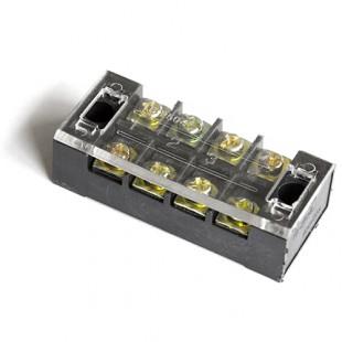 Блок зажимов винтовой на 4 контакта (2504)