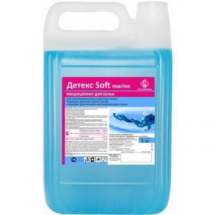 Детекс Soft кондиционер для белья (морской), канистра 5 л, арт.1031