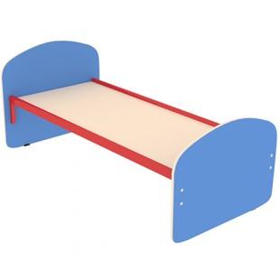 Кровать детская 1400х600х600мм, арт.КД-1 (СИНЯЯ)