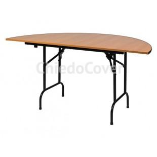 Стол на стальном каркасе Лидер-11 (полукруг) R750