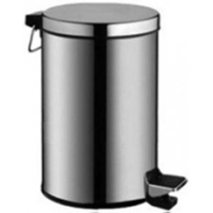 Ведро-контейнер для мусора с педалью G-teq 12л
