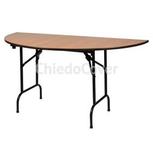 Стол на стальном каркасе Лидер-11 (полукруг) R800