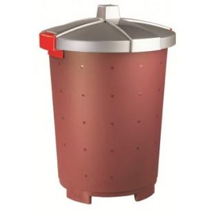 Бак для сбора отходов Restola 65 л., бордовый