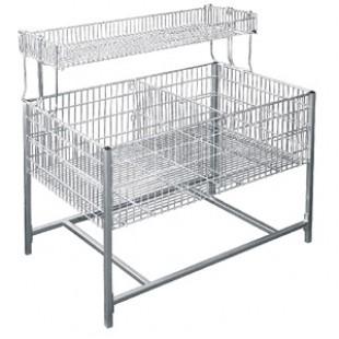1288 SDR \ Стол для распродаж (накопитель) с регулируемым дном