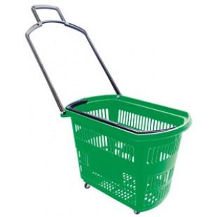 PLB-010 \ Корзина – тележка пластиковая, 32 л