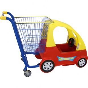 KLO-TQ-2 \ Детская машинка тележка для торговых центров