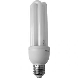 E27 26W \ Лампа энергосберегающая Camelion ЦВЕТНАЯ, используется в кубах белого цвета
