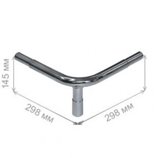 GD 1200 \ Ограждение от тележек - угловая стойка