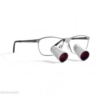 Бинокулярная лупа TTL M-View 3.8 (Frame-titanium) I.C. Lercher (Германия)