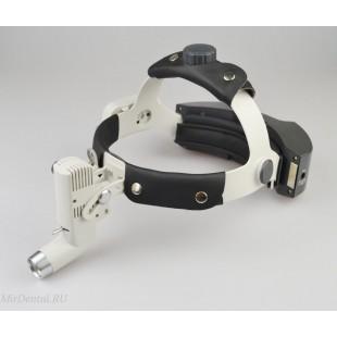 Беспроводной осветитель HL8000 с креплением на шлеме