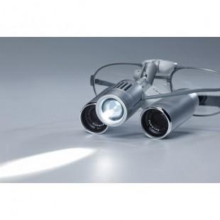 EyeMag Pro F Лупа бинокулярная налобная на титановой оправе Carl Zeiss (Германия)