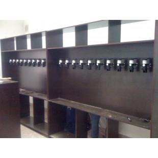 Фальш панель стандарт стелаж для магазина живого пива