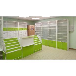 "Мебель ""Гаронна"" для аптеки"
