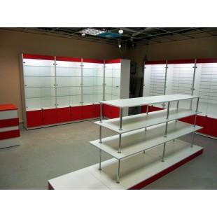 "Комплект мебели ""Квини"" для магазина обуви"