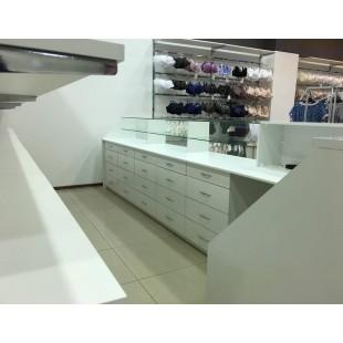 """Мебель торговая """"Кемпер"""" для магазина одежды"""