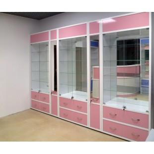 """Комплект мебели """"Болория"""" для магазина оптики"""