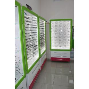 """Комплект мебели """"Осирис"""" для магазина оптики"""
