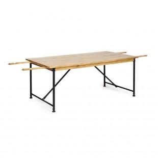Стол обеденный расскладной Academy, натуральный