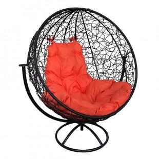 """Вращающееся кресло """"Круглое"""" с ротангом"""