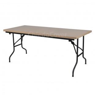Стол Лидер 2, 1800х900, 26мм, темный бук, черный