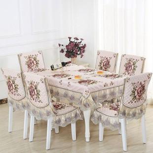 Комплект для стола и стульев, цветочный