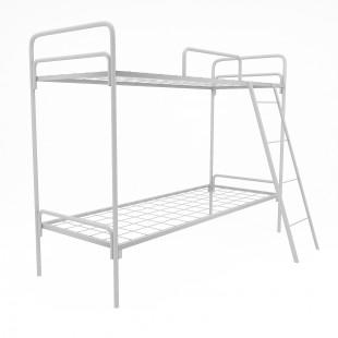 Двухъярусная металлическая кровать Искра