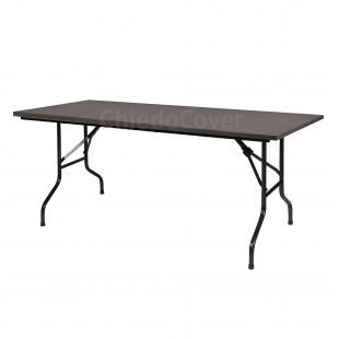 Стол Лидер 2, 1800х900, венге 26мм, черный