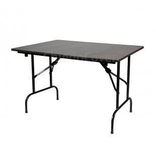 Стол Лидер 1, 900х600, венге, черный