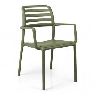Кресло пластиковое Costa, агава