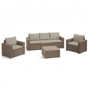 Комплект California set with 3 seat sofa