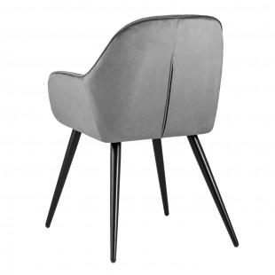 Кресло Кристи серое