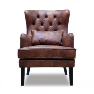 Кресло Альба, кожа