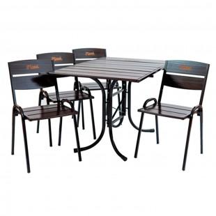 Комплект мебели для кафе Петергоф 120 см