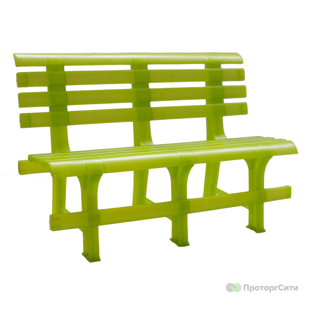 Скамейка пластиковая Стандарт