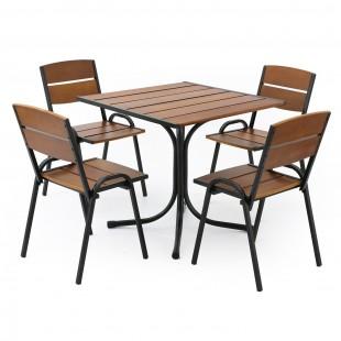 Комплект мебели для кафе Петергоф 80 см