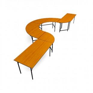 Конфигурация складных столов №4