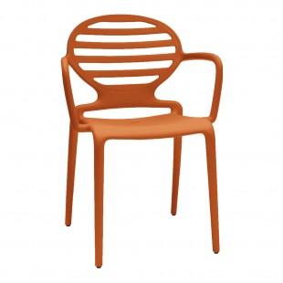 Кресло пластиковое Cokka, оранжевый