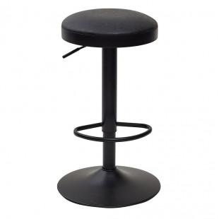 Барный стул Авага винтажный черный