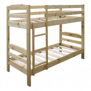 Двухъярусная кровать Тандем дерево