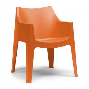 Кресло пластиковое Coccolona, оранжевый