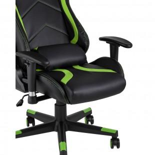 Кресло игровое TopChairs Cayenne зеленое