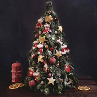 Елочка из хвои Christmas