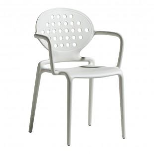 Кресло пластиковое Colette, лен