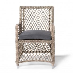 Кресло Латте соломенное