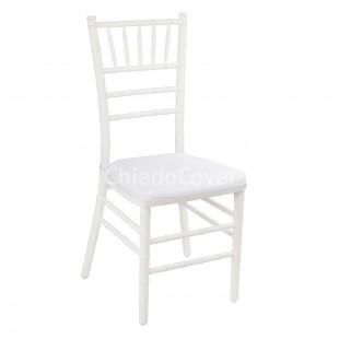 Подушка 01 для стула Кьявари, 2см, ричард белый