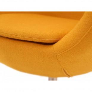 Кресло Egg, желтое