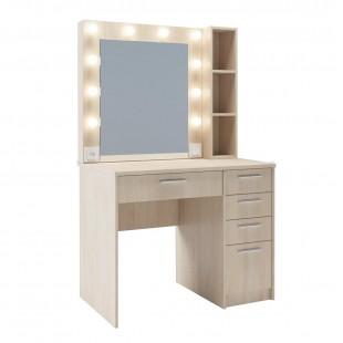 Гримерный столик с зеркалом Абба, бук